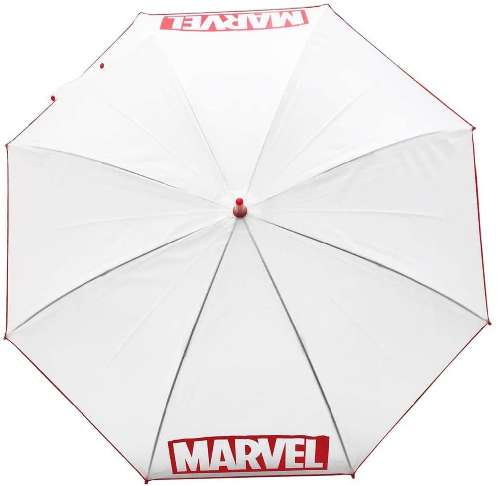 MARVEL マーベル ビニール傘 BOXロゴ WHITE