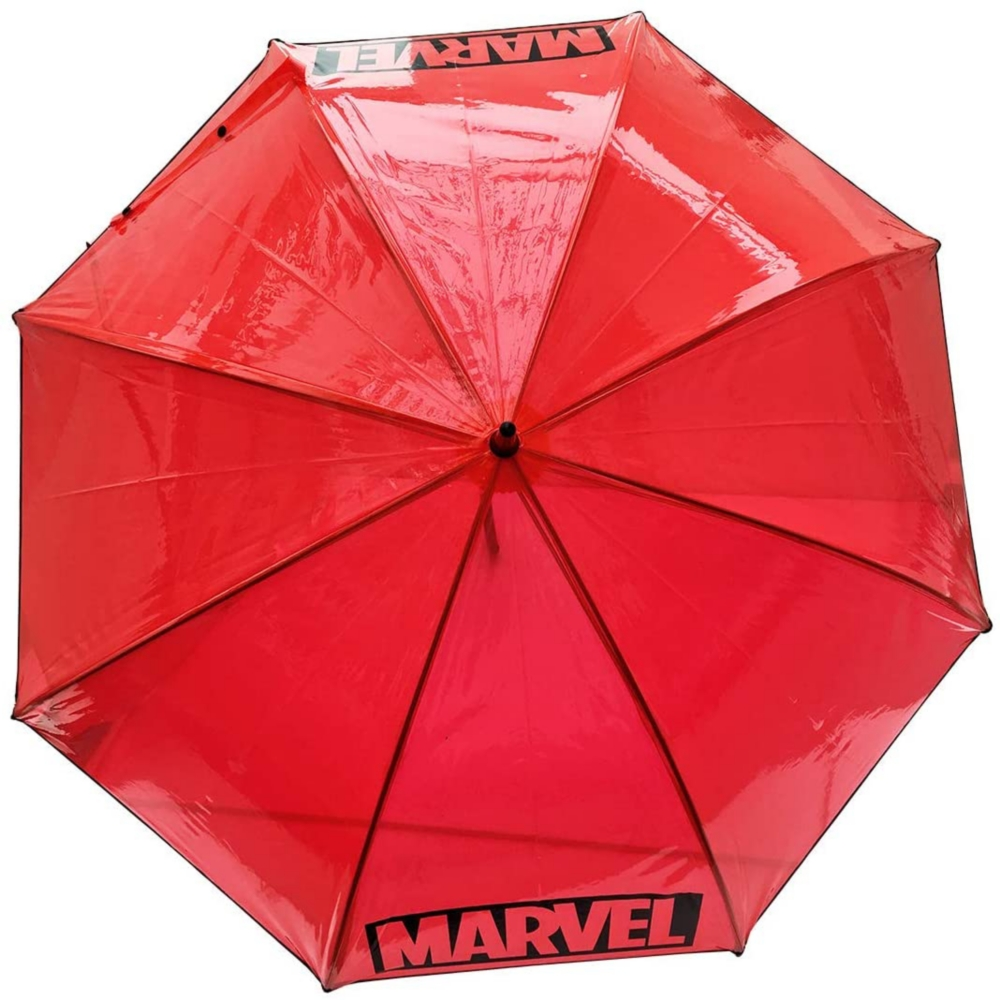 MARVEL マーベル ビニール傘 BOXロゴ BLACK