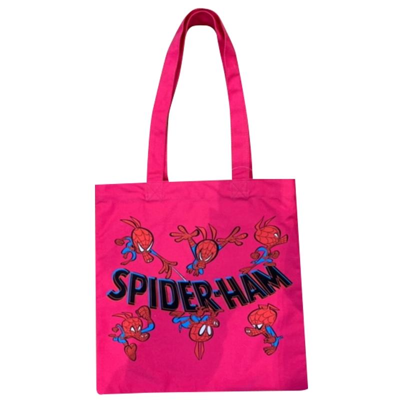 MARVEL マーベル スパイダーマン カラートートバッグ スパイダーハム