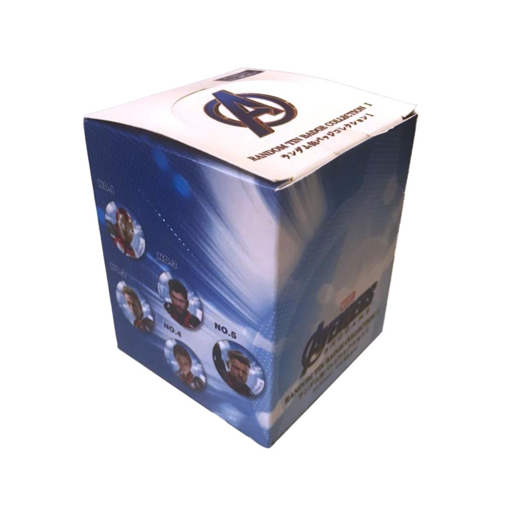 MARVEL マーベル 缶バッジ アベンジャーズ エンドゲーム1BOX
