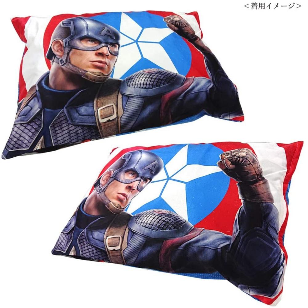 MARVEL マーベル 枕カバー アベンジャーズ / キャプテン・アメリカ