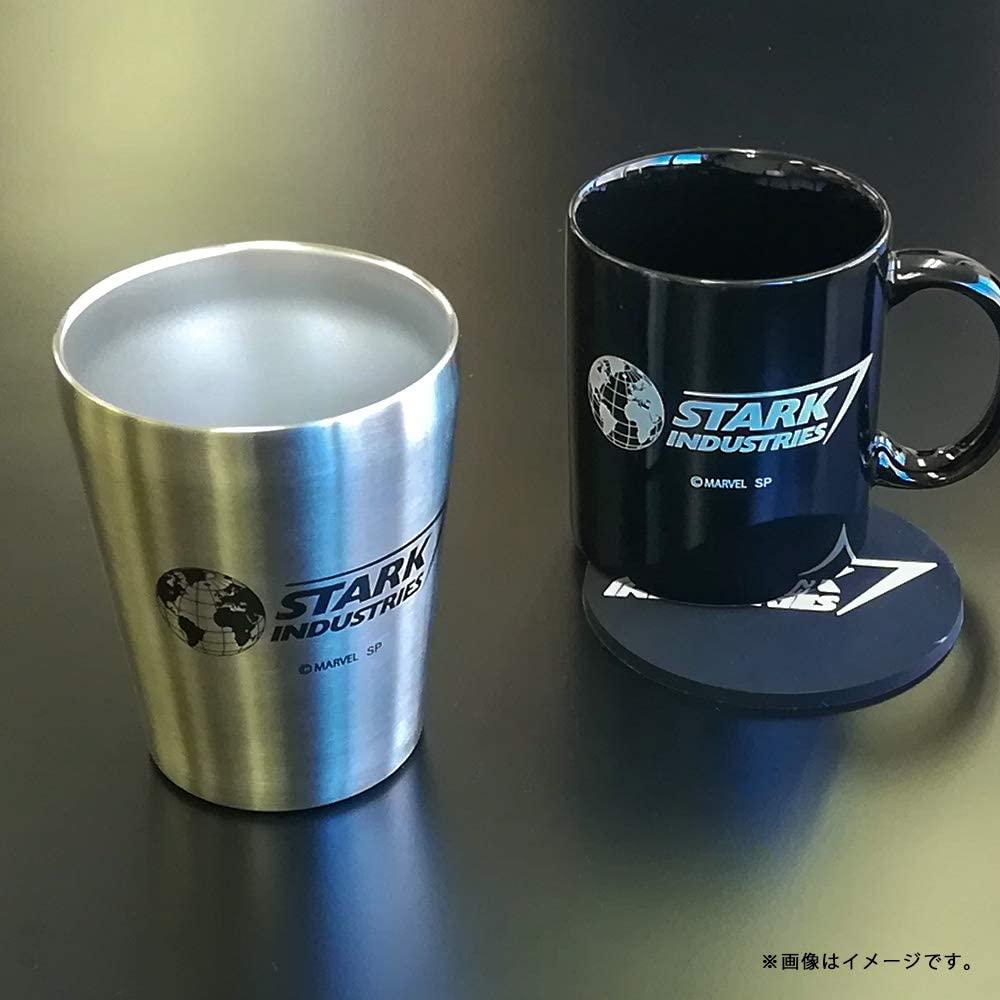 【 MARVEL 】 ステンレスタンブラー スターク・インダストリーズ ロゴ /シルバー