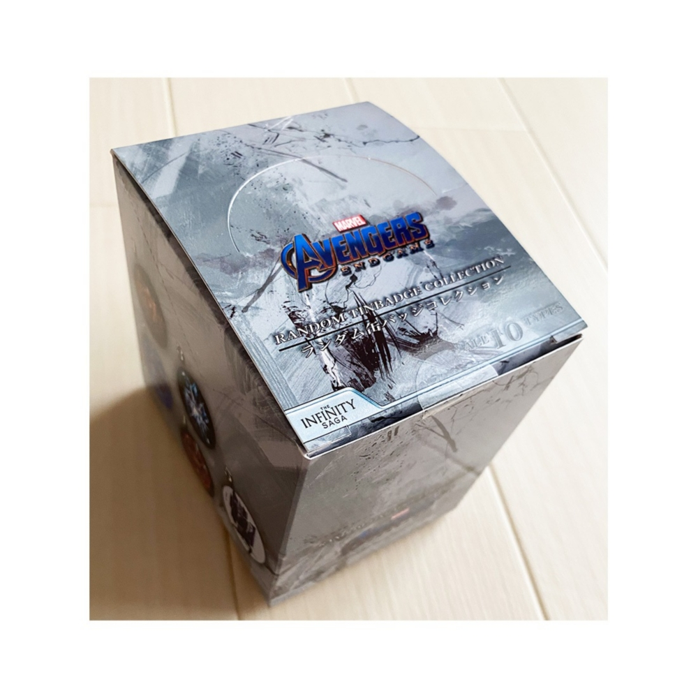 MARVEL マーベル エンドゲーム インフィニティ・サーガ ランダム缶バッジコレクション BOX(全10種入)