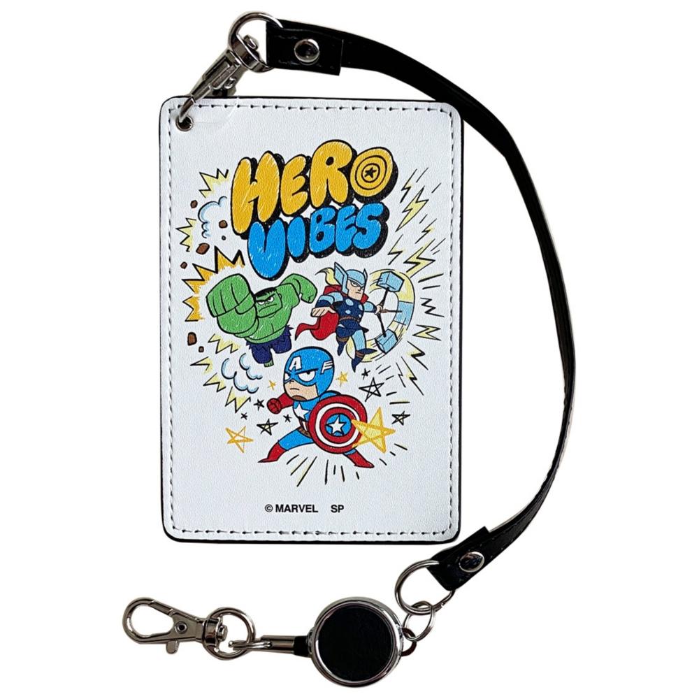 MARVEL マーベル アベンジャーズ パスケース Hero Vibes
