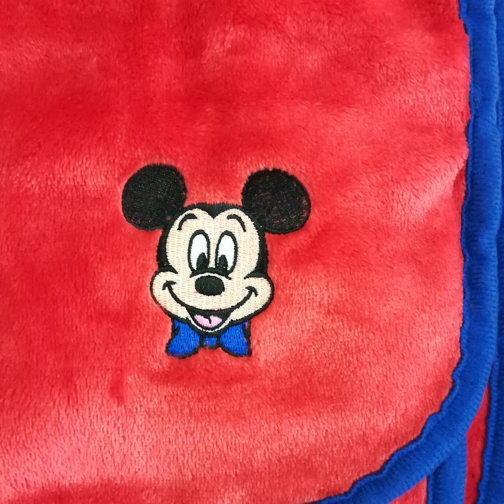 ディズニー ブランケットインクッション ミッキー スマイル