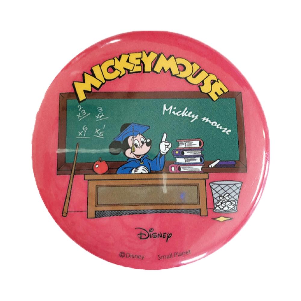 ノスタルジカ 缶バッジ ミッキー教室