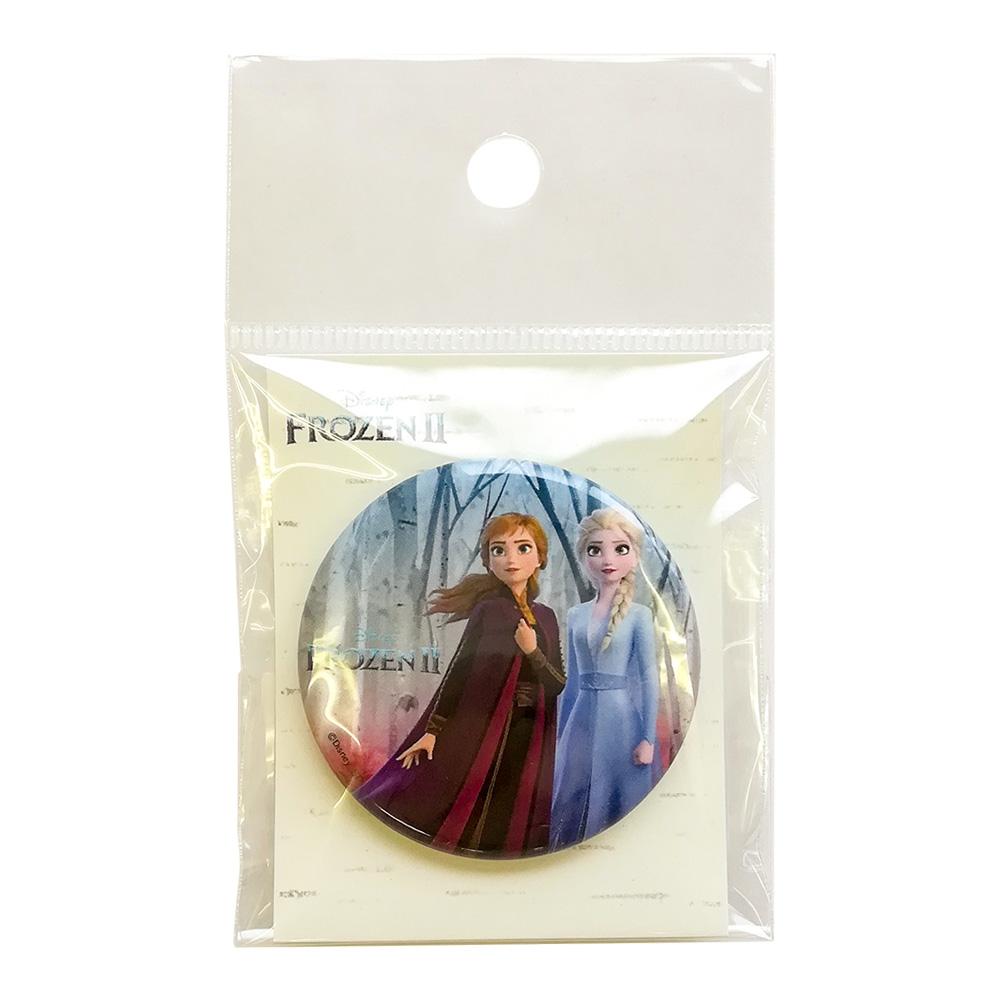 アナと雪の女王2 缶バッジ 姉妹
