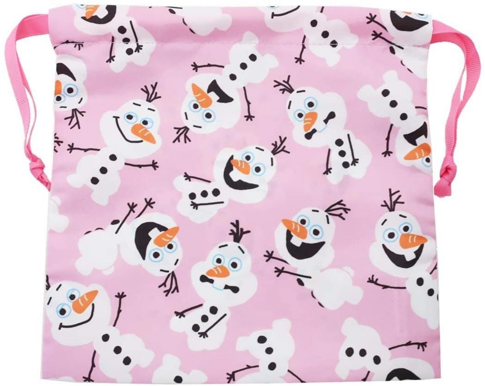 アナと雪の女王2 サテン巾着 オラフ イッパイ