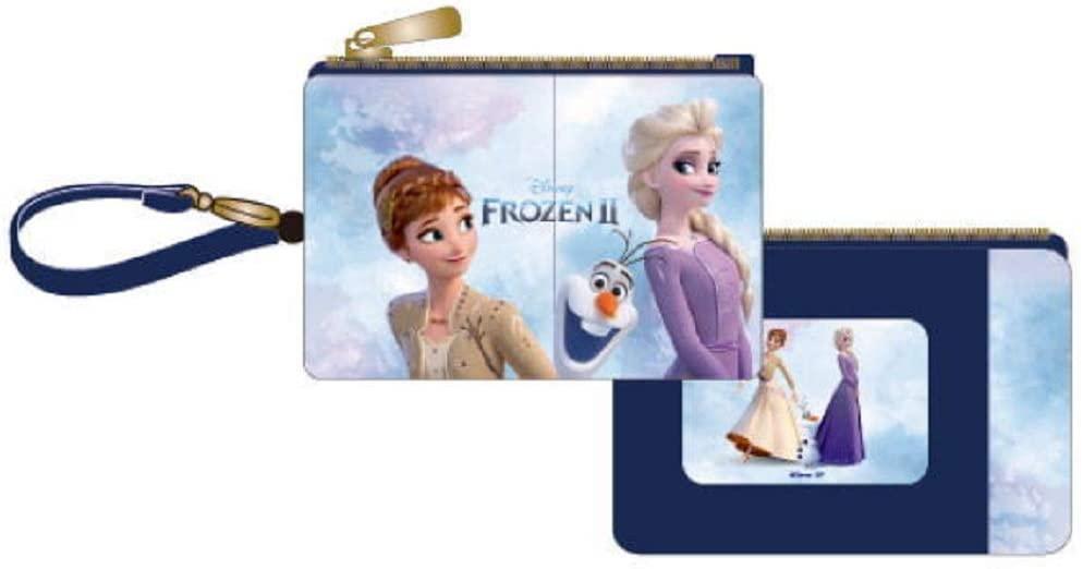 アナと雪の女王2 フルカラーパスケース 姉妹とオラフ