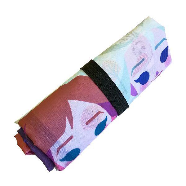 『アナと雪の女王2』 くるくるショッピングバッグ アナ&エルサ&オラフ ペーパーアート