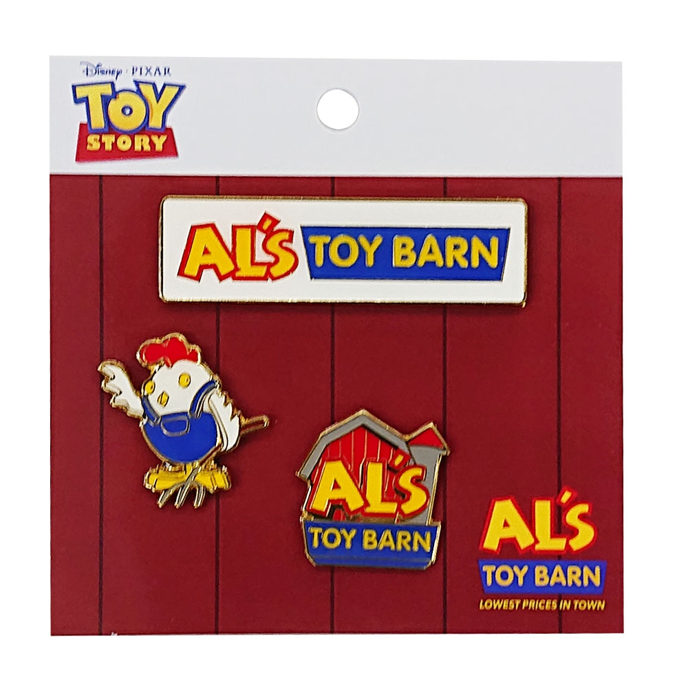 <POPUP限定商品>トイ・ストーリー ピンズセット Al's Toy Barn