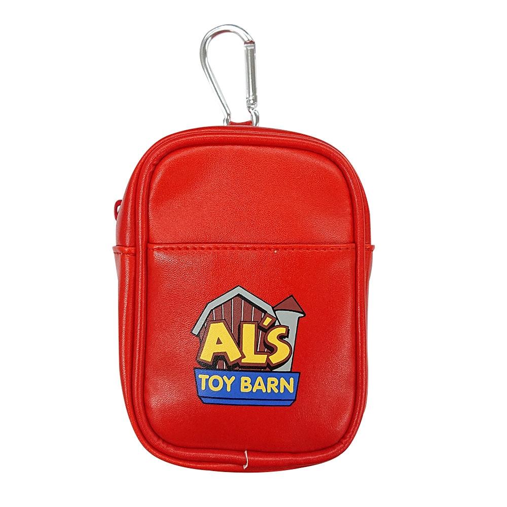 トイ・ストーリー Al's Toy Barn  合皮ポーチロゴ