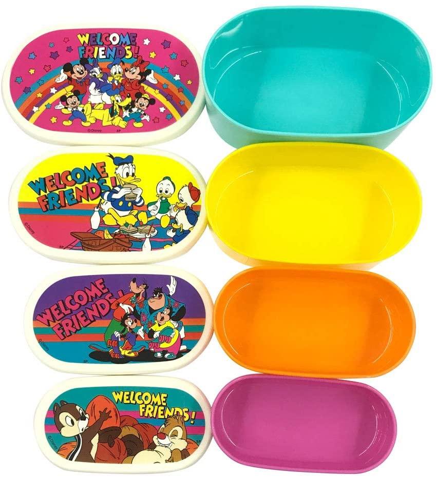 ディズニー ミッキー&フレンズ 4Pランチボックス