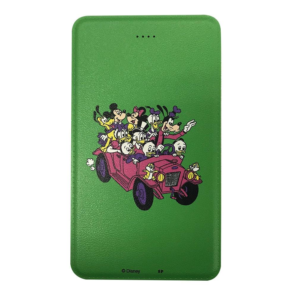 ノスタルジカ モバイルバッテリー ミッキー&フレンズ/車