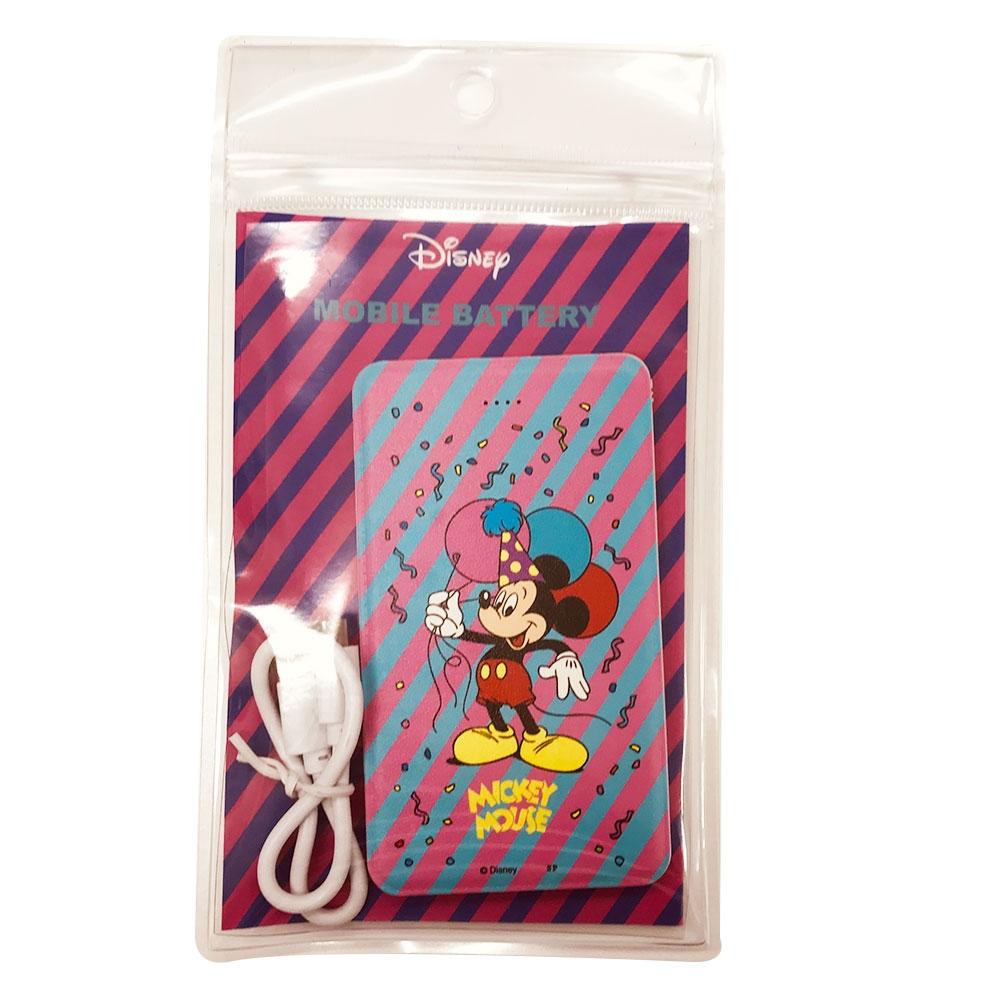 ノスタルジカ モバイルバッテリー ミッキーマウス/バルーン