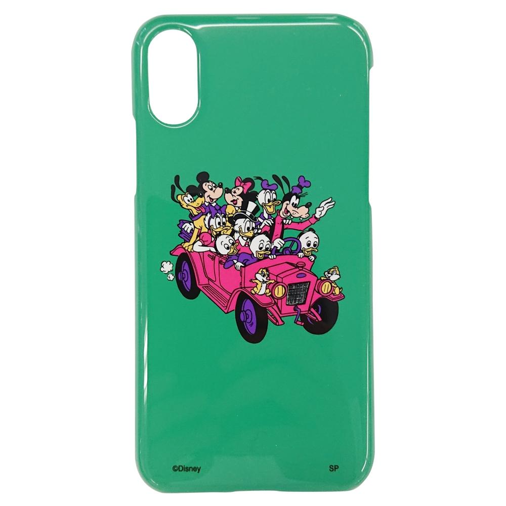 ノスタルジカ iPhone X XSケース ミッキー&フレンズ/車
