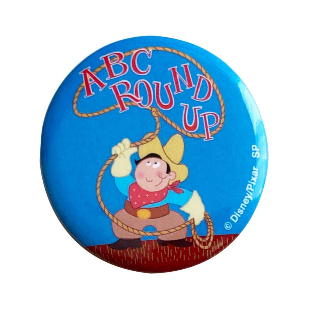 トイ・ストーリー ABC ROUNDUP/缶バッジ