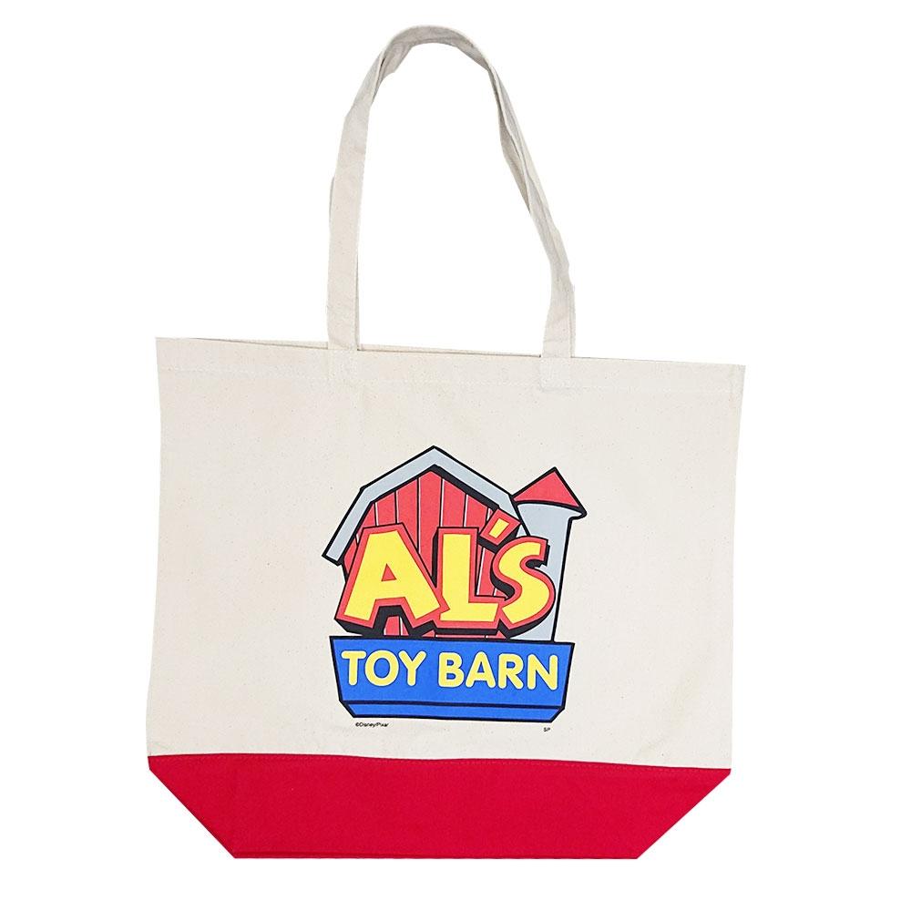 トイ・ストーリー Al's Toy Barn ロゴ/トートバッグ