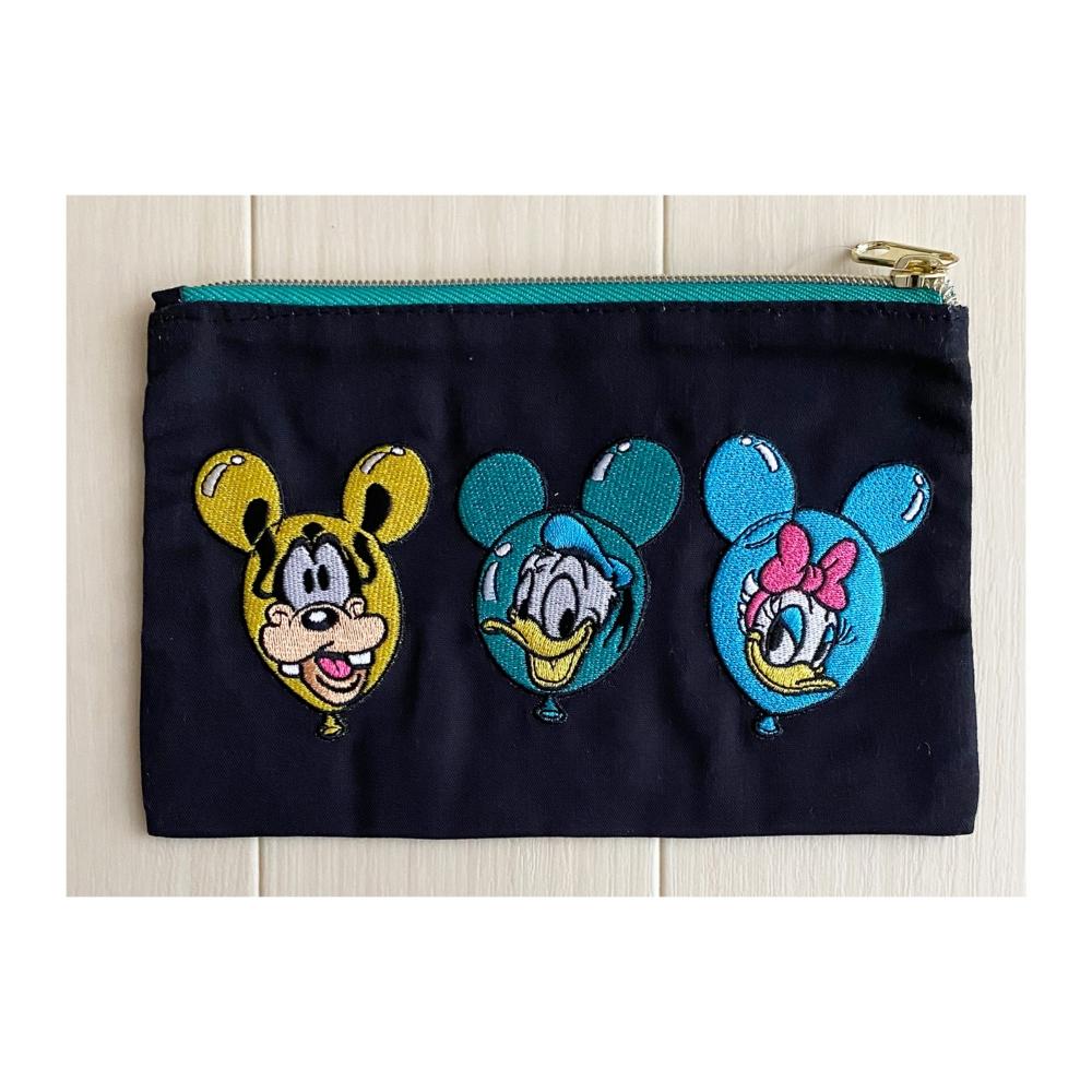 ノスタルジカ 刺繍ポーチ ミッキーマウス&フレンズ/バルーン