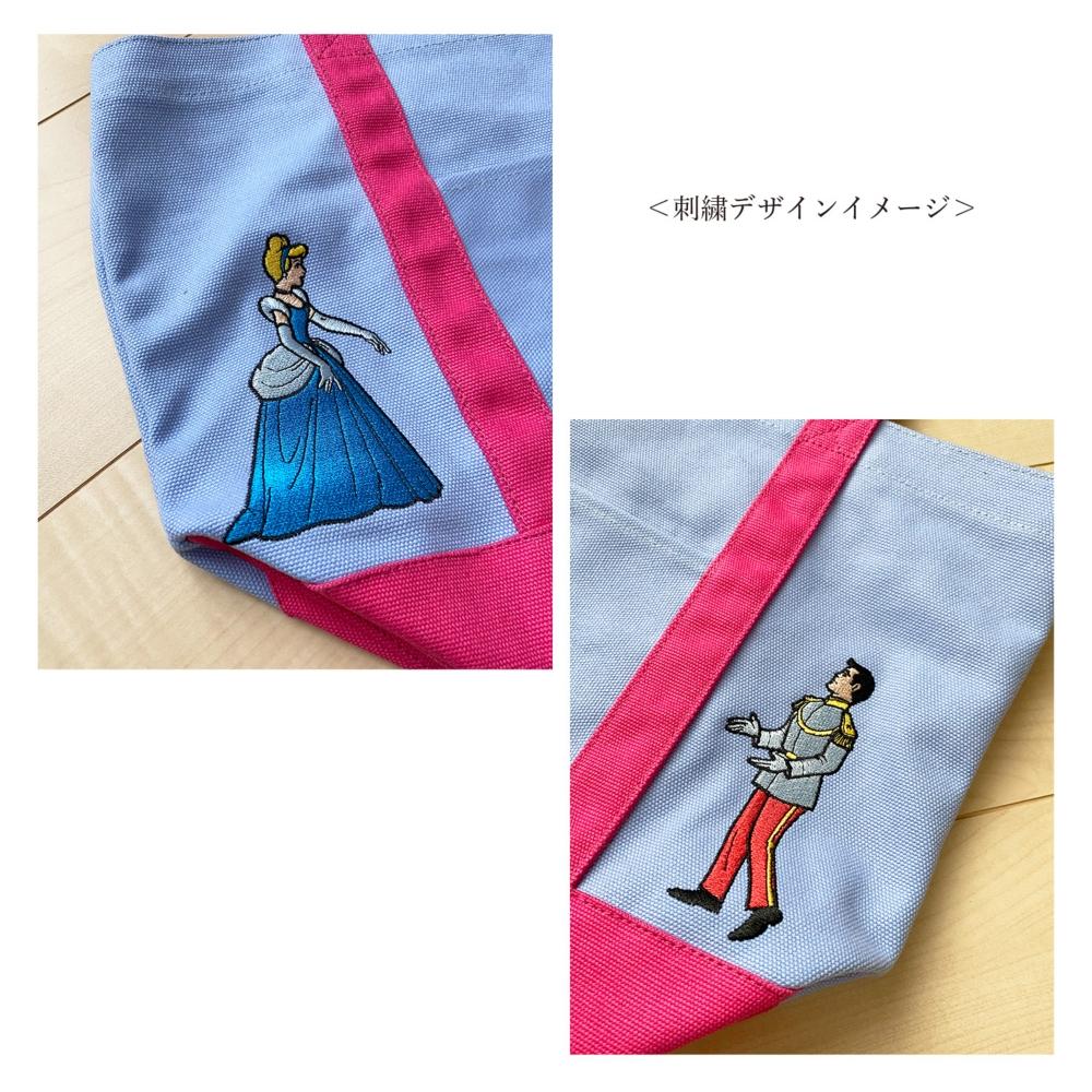 ノスタルジカ 刺繍トートバッグ シンデレラ