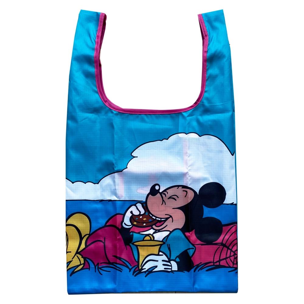 ノスタルジカ マルシェ型エコバッグ ミッキーマウス/ピクニック