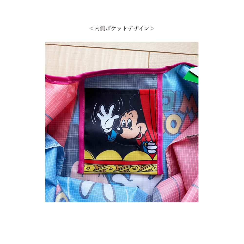 ノスタルジカ マルシェ型エコバッグ ミッキーマウス/ステージ