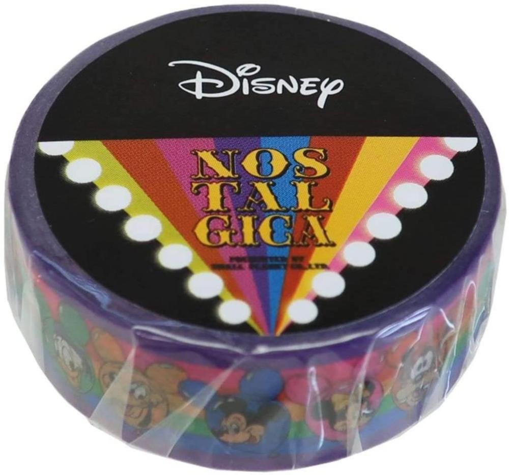 ディズニー マスキングテープ ミッキー&フレンズ レインボー02