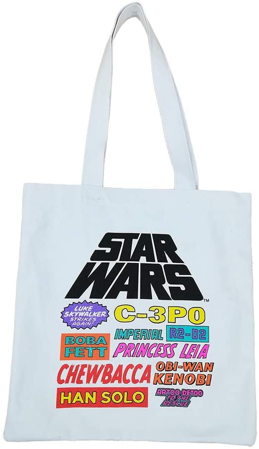 【 STAR WARS 】 カラートート/ ロゴ
