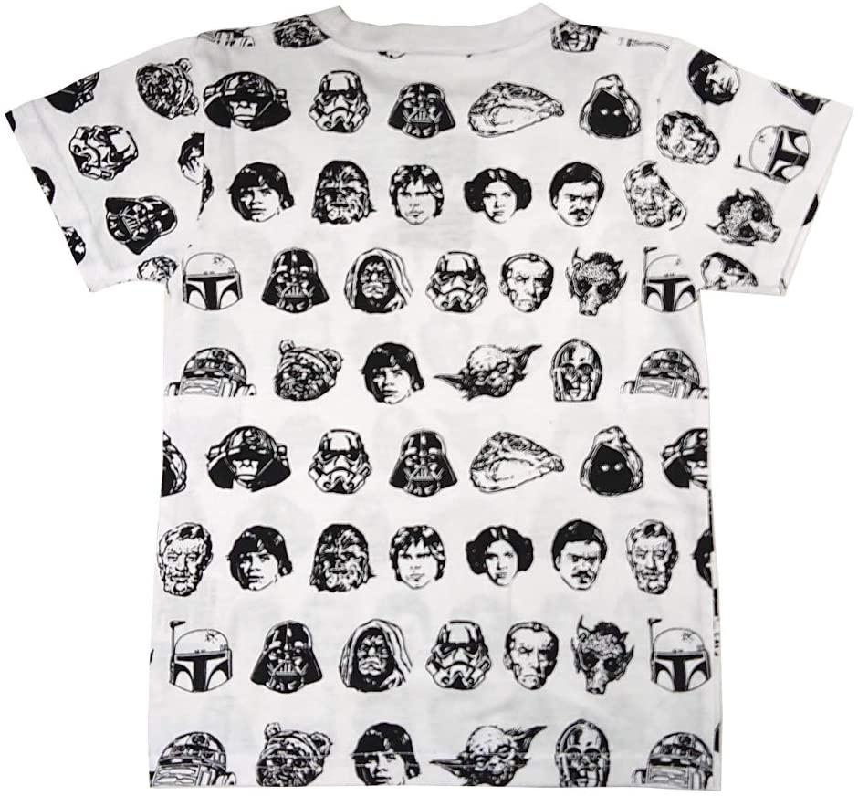 スター・ウォーズ フェイスパターン Tシャツ 100サイズ