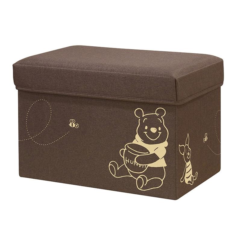 収納ボックス(L) プーさん&ピグレット スツール