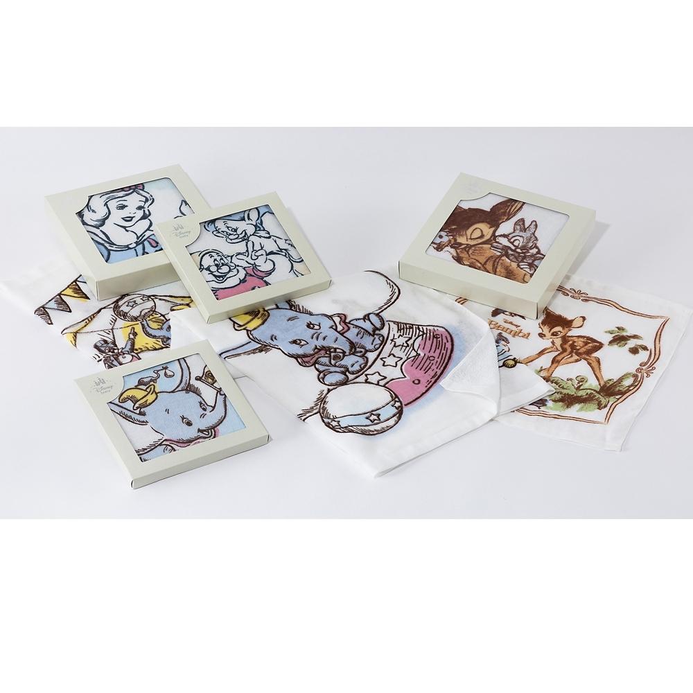 白雪姫 日本製 おはなしガーゼ ハンドタオル 2枚組
