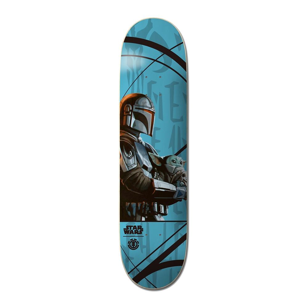 【ELEMENT】スター・ウォーズ マンダロリアン&ザ・チャイルド スケートボード デッキ MANDO CARD