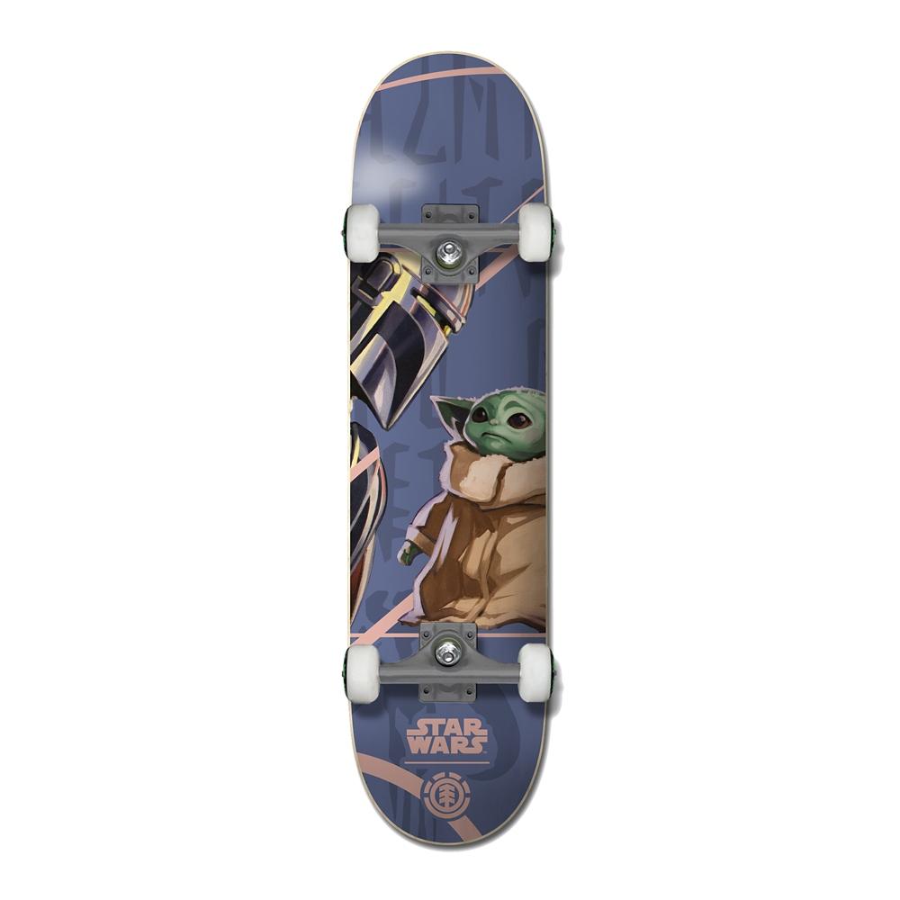 【ELEMENT】スター・ウォーズ マンダロリアン&ザ・チャイルド スケートボード コンプリートデッキ MANDO CHILD
