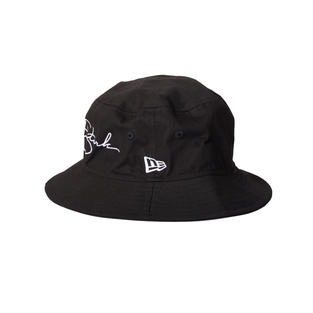 【NEW ERA】 BUCKET-01 BLACK  IRONMAN
