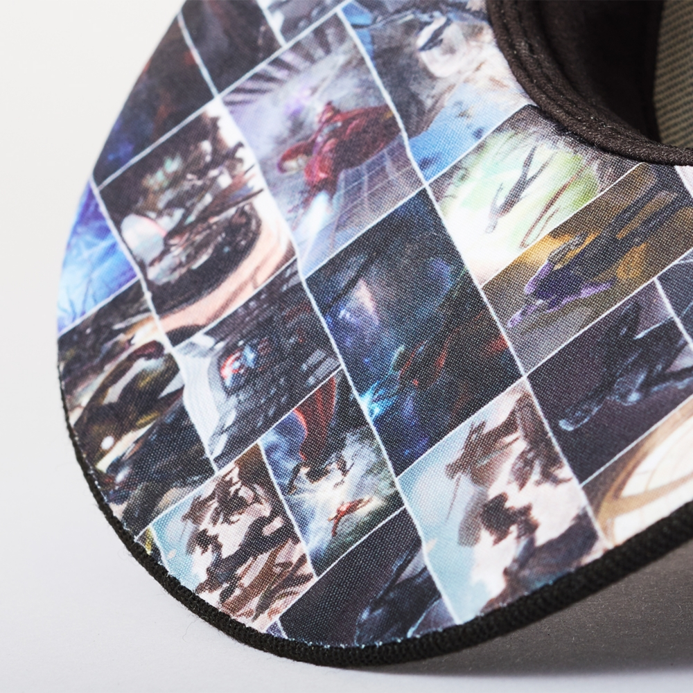 【NEW ERA】 950 BLACK GRAY UV PRINT  MARVEL