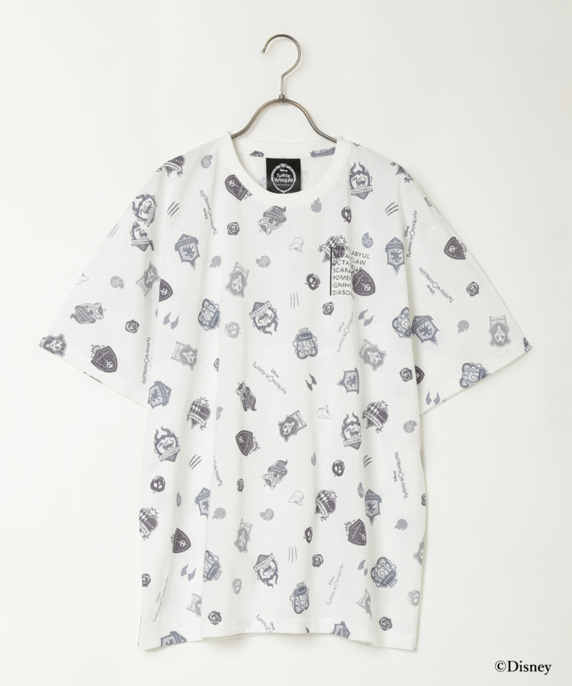 『ディズニー ツイステッドワンダーランド』バッグコレクション オリジナルデザインT シャツ(White)