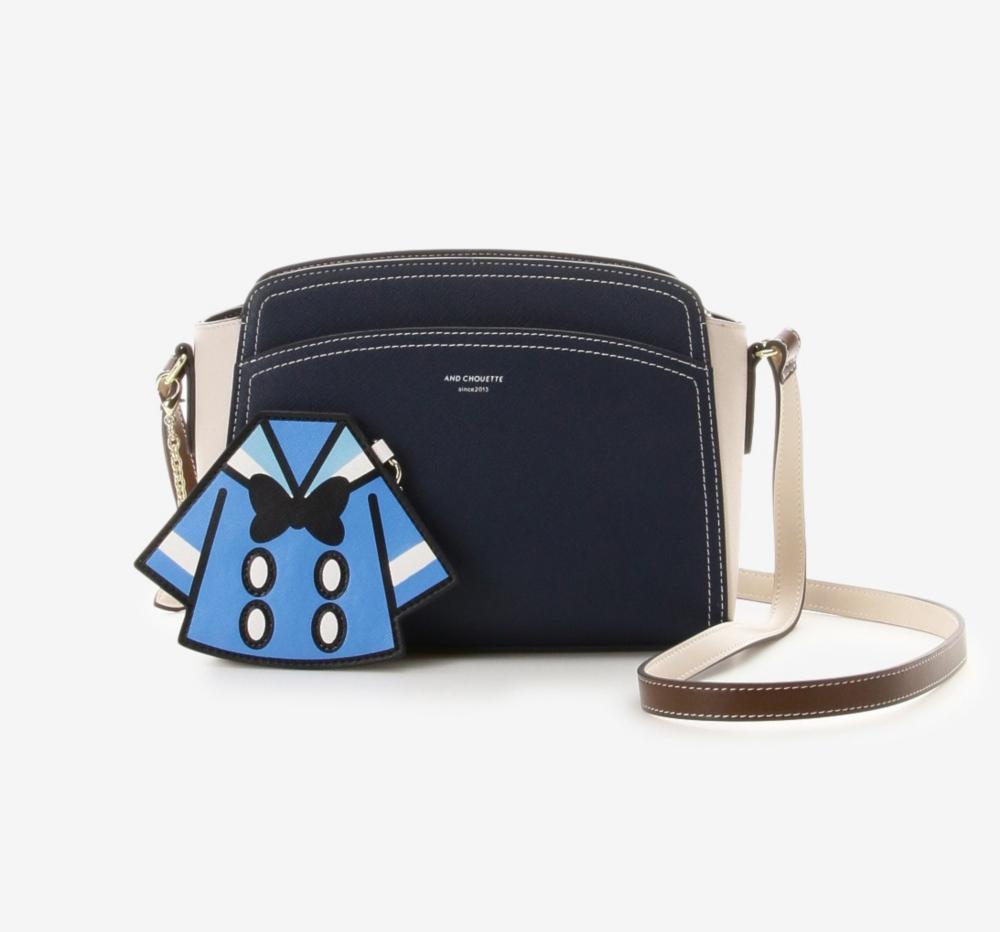 【& chouette】カードケース付きドナルドショルダーバッグ
