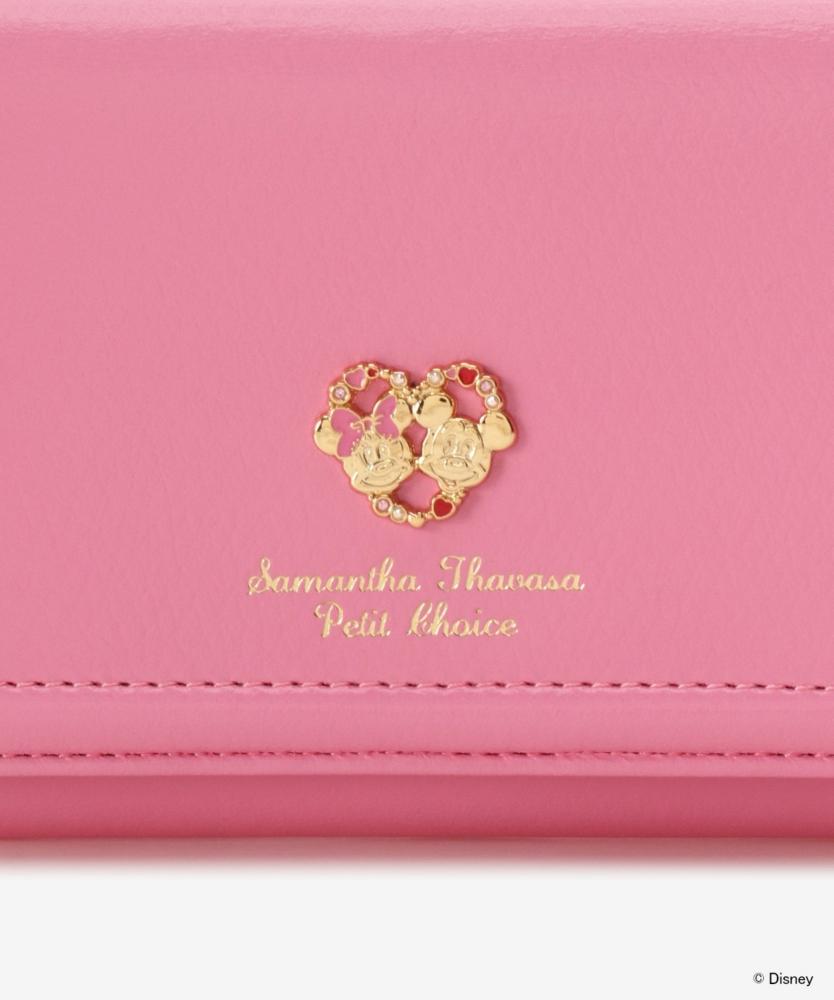 【Samantha Thavasa Petit Choice】【ミッキー&ミニー コレクション】折財布