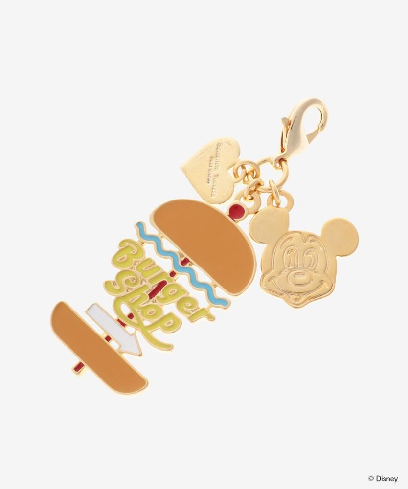 【Samantha Thavasa Petit Choice】【ミッキー&ミニー コレクション】ファスナーチャーム ハンバーガー
