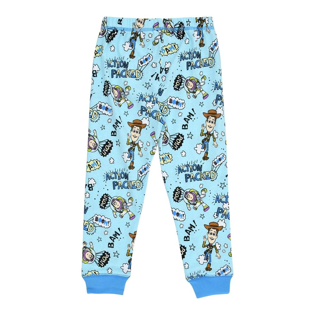 ウッディ&バズ・ライトイヤー キッズ用長袖パジャマ(100) Action デフォルメ