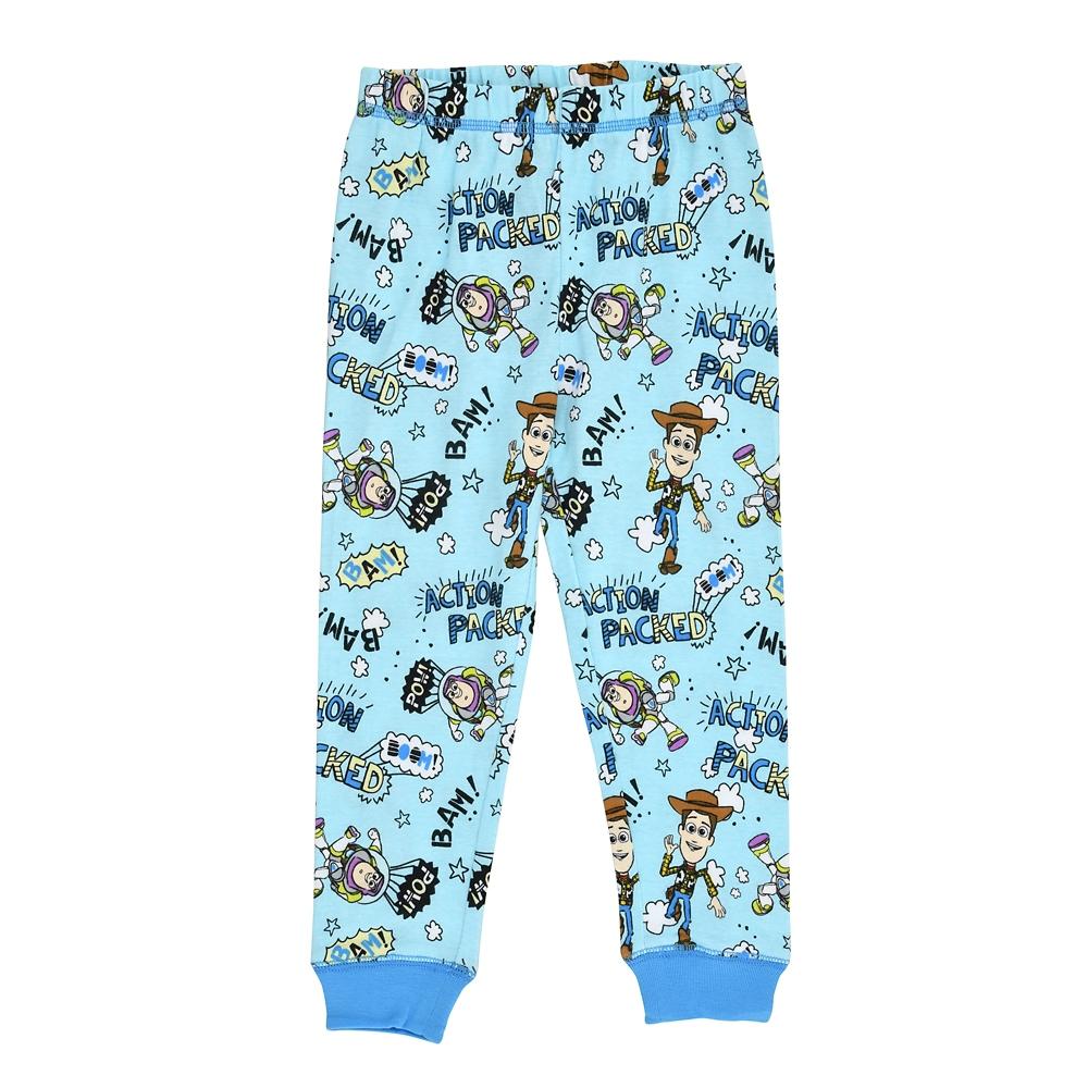 ウッディ&バズ・ライトイヤー キッズ用長袖パジャマ(110) Action デフォルメ