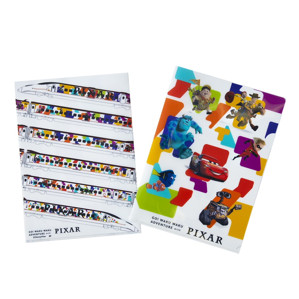 PIXAR クリアファイル2枚セット オールキャラ