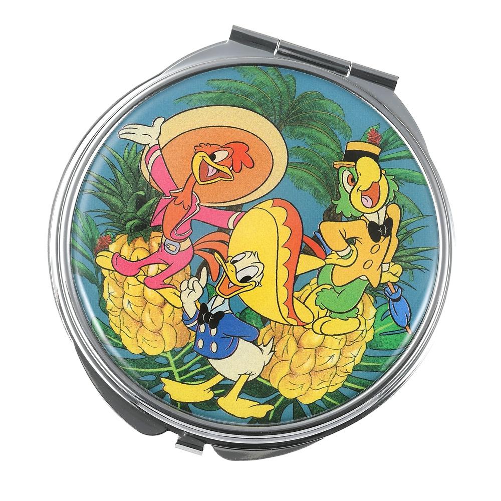 ドナルド、ホセ・キャリオカ、パンチート ハンドミラー・手鏡 Donald Duck Birthday 2021