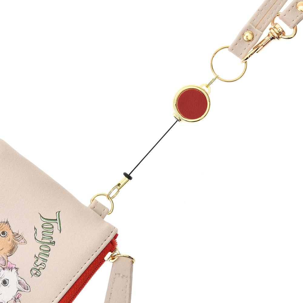 マリー、ベルリオーズ、トゥルーズ おしゃれキャット 定期入れ・パスケース Disney ARTIST COLLECTION by YUKO HIGUCHI