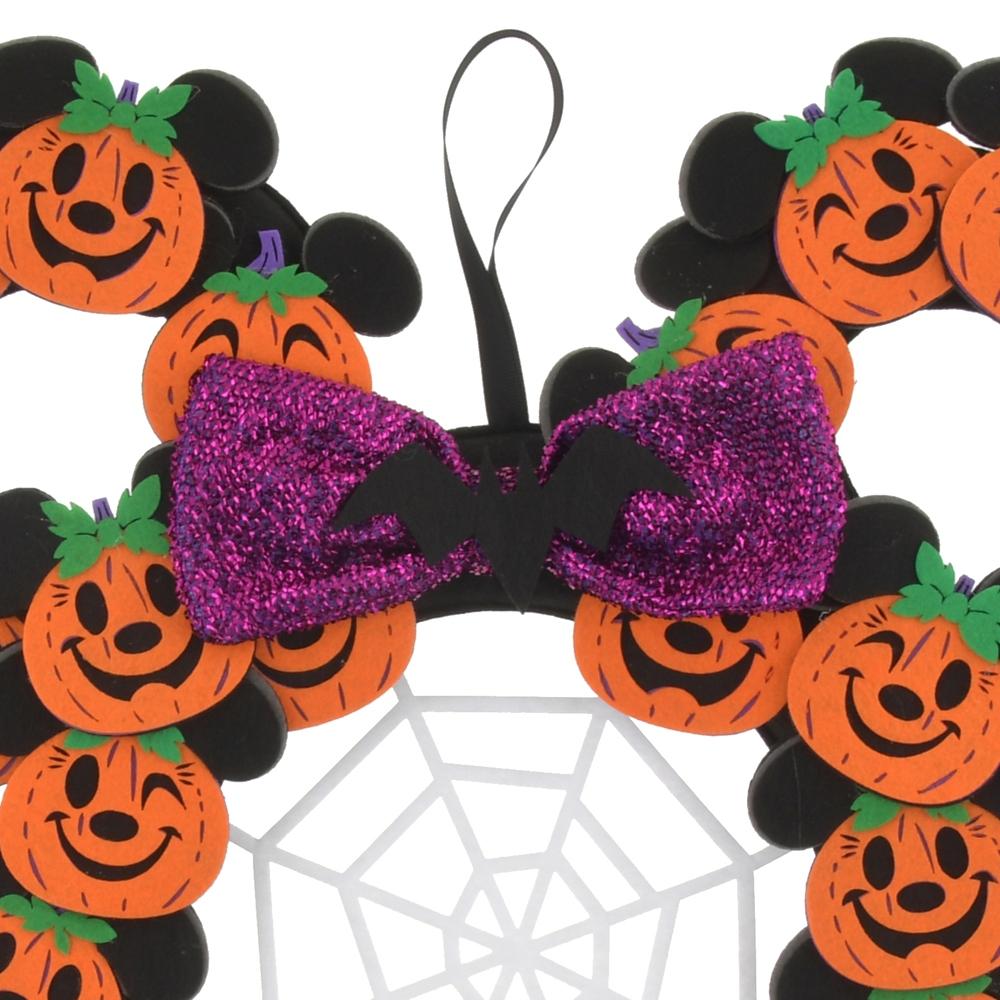 ミッキー&ミニー リース カボチャ Disney Halloween 2021