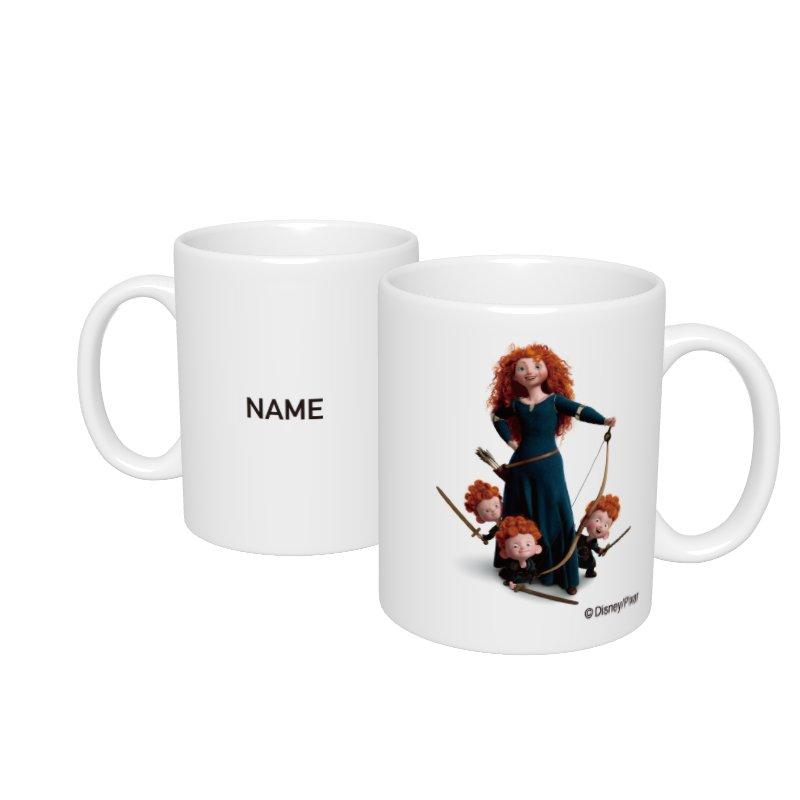 【D-Made】名入れマグカップ  メリダとおそろしの森 メリダ&ハリス&ヒューバート&ヘイミッシュ