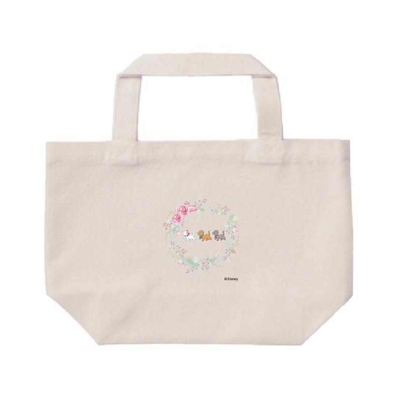 【D-Made】ミニトートバッグ  おしゃれキャット マリー&トゥルーズ&ベルリオーズ 行進 Cat Day