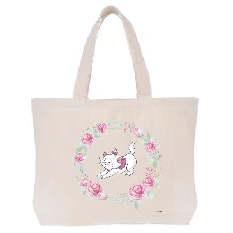 【D-Made】トートバッグ  おしゃれキャット マリー くつろぎ Cat Day