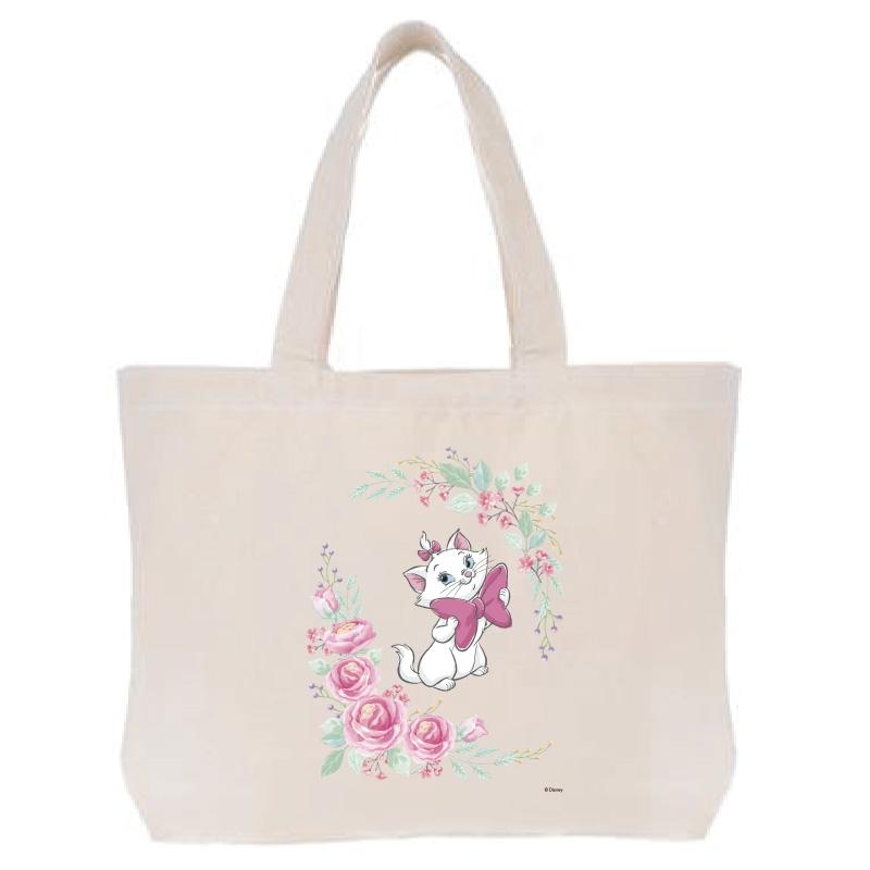 【D-Made】トートバッグ  おしゃれキャット マリー リボン Cat Day