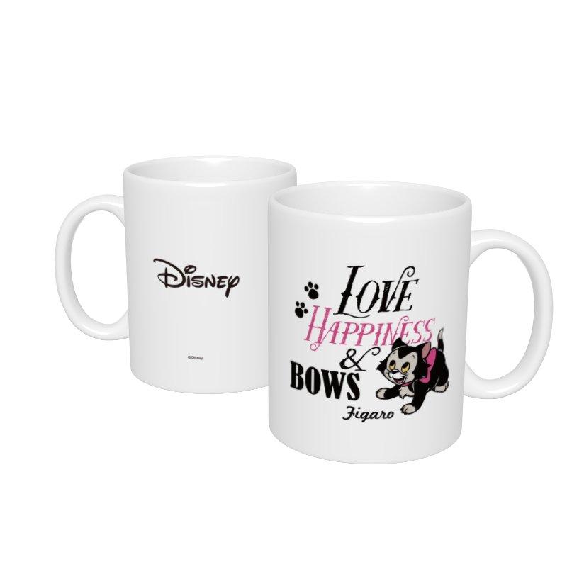 【D-Made】マグカップ  フィガロ LOVE HAPPINESS & BOWS